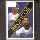 DELTHA O'NEAL - 2000 Fleer Tradition Rookie - Broncos, Bengals & Cal Golden Bears