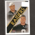 SEBASTIAN JANIKOWSKI - 2000 Fleer Tradition RC - Raiders & Florida State Seminoles