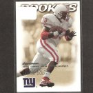 RON DAYNE - 2000 Skybox Dominion RC - Giants & Wisconsin Badgers