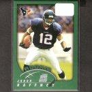 JABAR GAFFFNEY 2002 Topps ROOKIE - Broncos, Redskins & Florida Gators