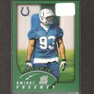 DWIGHT FREENEY 2002 Topps ROOKIE - Colts & Syracuse Orangemen
