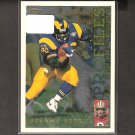 JEROME BETTIS 1995 Topps Profiles - Rams, Steelers & Notre Dame Fighting Irish