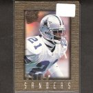 DEION SANDERS 1996 Fleer Ultra Sensations - 49ers, Cowboys & Florida State Seminoles