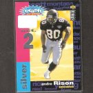 ANDRE RISON 1995 Collector's Choice Crash the Game Silver - 49ers & Mississippi Valley