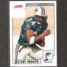 TRAVIS MINOR 2001 Victory Rookie Card RC - Dolphins & Florida State Seminoles