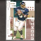 DAVID GARRARD 2002 Upper Deck MVP Rookie Card RC - Jaguars, Steelers & East Carolina Pirates