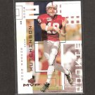 CHAD HUTCHINSON 2002 Upper Deck MVP Rookie Card RC - Dallas Cowboys & Stanford Cardinal