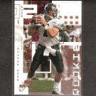 PATRICK RAMSEY 2002 Upper Deck MVP Rookie Card RC - Redskins & Tulane Green Wave