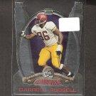 DARRELL RUSSELL - 2002 Press Pass Combine RC - USC Trojans & Oakland Raiders