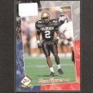 DEON FIGURES - 1993 Pacific ROOKIE - Colorado Buffalos & Pittsburgh Steelers