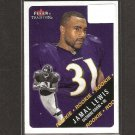 JAMAL LEWIS - 2000 Fleer Tradition Rookie Card RC - Cleveland Browns, Ravens & Tennessee Volunteers