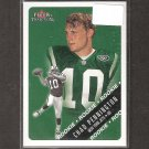 CHAD PENNINGTON 2000 Fleer Tradition Rookie - Jets, Dolphins & Marshall Thundering Herd