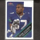 SHAUN ALEXANDER - 2000 Fleer Tradition Rookie Card RC - Seahawks & Alabama Crimson