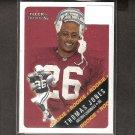 THOMAS JONES - 2000 Fleer Tradition Rookie Card RC - Virginia Cavaliers & NY Jets