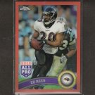 ED REED 2011 Topps Chrome ORANGE Refractor- Ravens & Miami Hurricanes