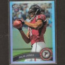 JULIO JONES 2011 Topps Chrome Refractor Rookie RC - Falcons & Alabama Crimson Tide
