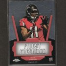 JULIO JONES 2011 Topps Chrome Finest Freshman RC - Falcons & Alabama Crimson Tide