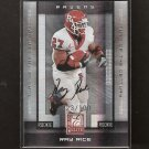 RAY RICE 2008 Donruss Elite Autograph Rookie RC - Baltimore Ravens & Rutgers Scarlet Knights