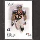VON MILLER 2011 Topps Legends Rookie Card RC - Denver Broncos & Texas A&M Aggies