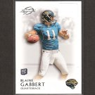 BLAINE GABBERT 2011 Topps Legends Rookie Card RC - Jacksonville Jaguars & Missouri Tigers