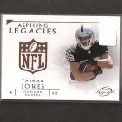 TAIWAN JONES 2011 Topps Legends Aspiring Legacies RC - Raiders & Eastern Washington