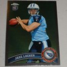 JAKE LOCKER 2011 Topps Chrome Rookie Card RC - Tennessee Titans & Washington Huskies