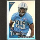MYRON ROLLE 2010 Topps Chrome Refractor Rookie RC - Titans & Florida State Seminoles