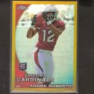 ANDRE ROBERTS 2010 Topps Chrome GOLD Refractor Rookie RC - Cardinals & Citadel