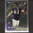 TERRENCE CODY 2010 Topps Chrome Refractor Rookie RC - Ravens & Alabama Crimson Tide