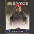 MARCUS CANNON 2011 Panini Gridiron Gear Rookie RC - Patriots & TCU Horned Frogs