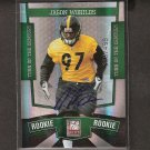 JASON WORILDS 2010 Elite Turn of Century Autograph Rookie Card RC - Steelers & Virginia Tech Hokies