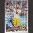 DONOVAN McNABB 2011 Topps Chrome X-Fractor - Redskins & Syracuse Orangemen