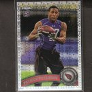PATRICK PETERSON 2011 Topps Chrome X-Fractor RC Rookie - Cardinals & LSU Tigers