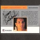 VINNY TESTAVERDE - 1991 Proline Portraits Autograph - Buccaneers, Ravens & Miami Hurricanes