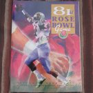 1995 81st ROSE BOWL PROGRAM - Penn State Nittany Lions & Oregon Ducks