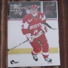 2000-01 Boston University Terriers NCAA PROGRAM - BU Hockey, Mike Pandolfo