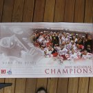 2009 NCAA Hockey NATIONAL CHAMPIONSHIP Commemorative POSTER - Boston University Terriers