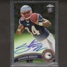 STEVAN RIDLEY 2011 Topps Chrome Autograph RC Rookie - NY Jets & LSU Tigers