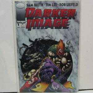 DARKER IMAGE #1 Comic Book - Sam Keith, Jim Lee, Rob Liefield THE MAXX - Image Comics