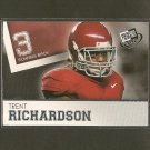 TRENT RICHARDSON 2012 Press Pass RC - Browns & Alabama Crimson Tide