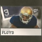 MICHAEL FLOYD 2012 Press Pass RC - Arizona Cardinals & Notre Dame Fighting Irish