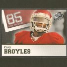 RYAN BROYLES - 2012 Press Pass GOLD RC - Detroit Lions & Oklahoma Sooners