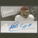 MARK BARRON - 2012 Press Pass Autograph RC - Rams, Buccaneers & Alabama Crimson Tide