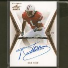 NICK TOON 2012 Leaf Ultimate Draft Autograph Rookie Card RC - Saints & Wisconsin Badgers