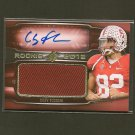 COBY FLEENER 2012 SPx Autograph Rookie Card Jersey/Relic RC #163/399 - Colts & Stanford