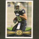 NICK TOON 2012 Topps Rookie Card RC - Saints & Wisconsin Badgers
