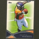 RONNIE HILLMAN 2012 Topps Prolific Playmaker  - Broncos & San Diego State