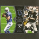 ANDREW LUCK & JIM PLUNKETT 2012 Topps Paramount Pairs RC - Colts, Raiders & Stanford
