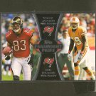 VINCENT JACKSON & MIKE WILLIAMS 2012 Topps Paramount Pairs RC - Tampa Bay Buccaneers