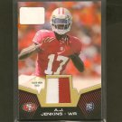 AJ-A.J. JENKINS- 2012 Topps  2 COLOR Jersey Relic Rookie RC - 49ers & Fighting Illini